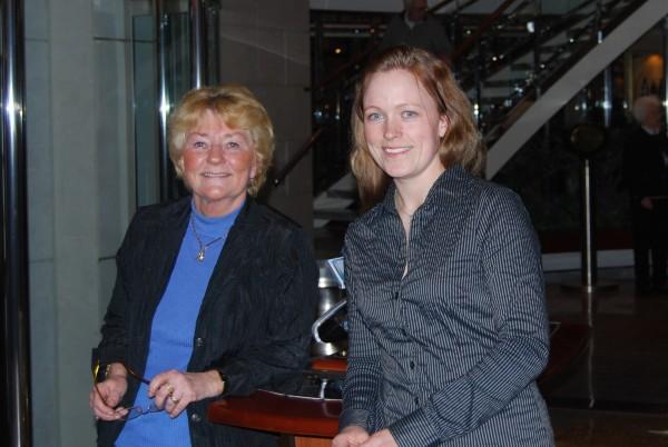 Kirsti Greibrokk and Siv Merete Kindlistuen